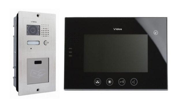 Wideodomofon Vidos M670B S601A-2 z czytnikiem kluczy