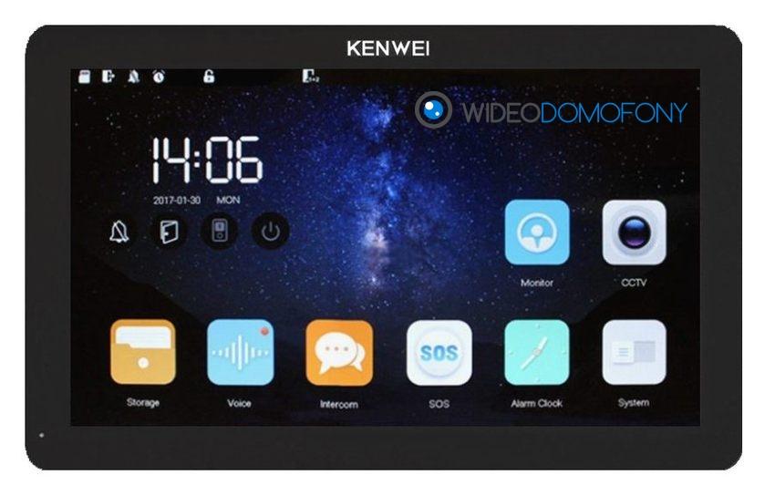 monitor wideodomofonu KENWEI