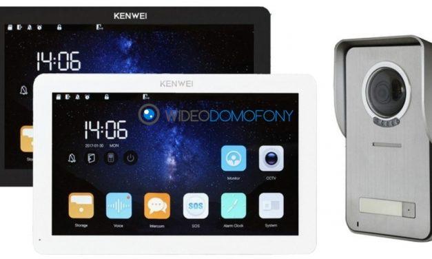 Prezentacja wideodomofon Kenwei KW-S201 KW-EA10TC
