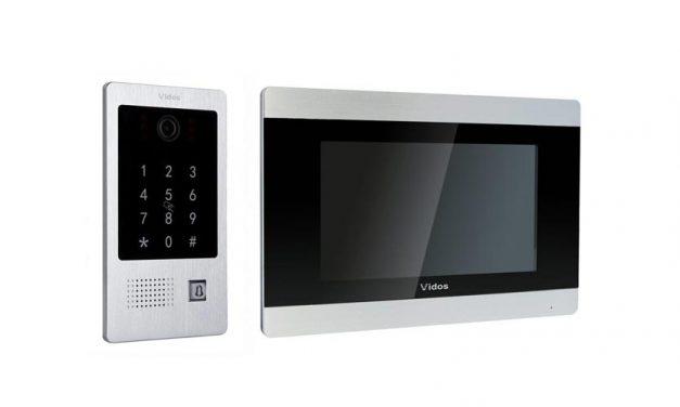 Wideodomofon Vidos S20DA M903 z czytnikiem i szyfratorem