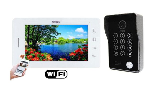Promocja – Wideodomofon IP 5TECH 96713 94214 z czytnikiem, szyfratorem i wi-fi