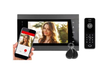 Wideodomofon IP Virone VDP-61 Z Czytnikiem Szyfratorem Wi-Fi