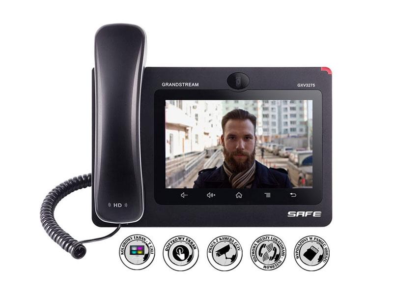 Monitor Safe IP z interkomem Audio-Video GXV3370S