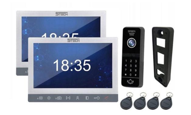 5tech M94710 – Wideodomofon z dwoma monitorami  czytnikiem i szyfratorem