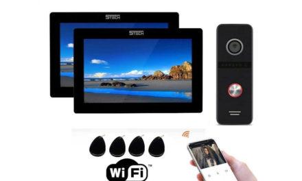 Wideodomofon IP 5tech Z Dwoma monitorAmi Verus One Full HD