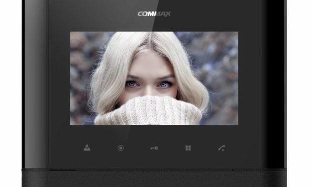 Monitor wideodomofon Commax CDV-77M Black