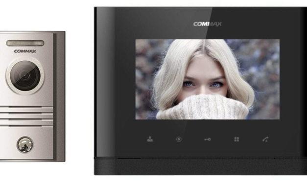 Wideodomofon Commax CDV-77M DRC-40KPT natynkowy Black